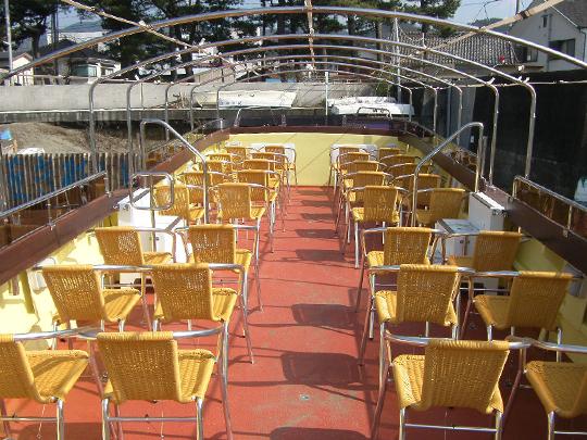 オープンタイプ運河クルーズボート「かなもえ」