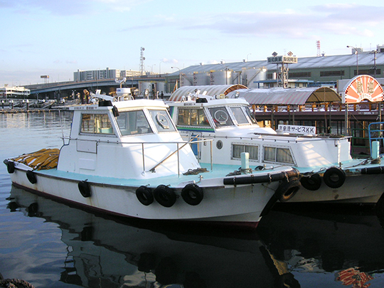 13.6m型 作業船兼交通船「第二くろしお丸」