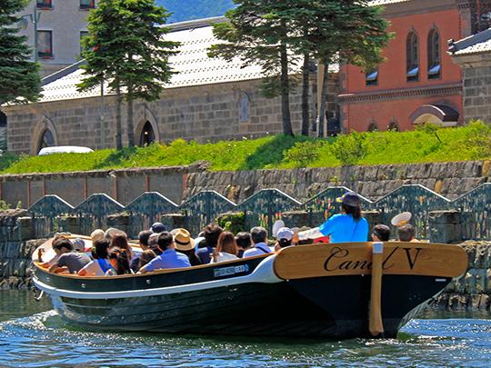 小樽カナルボート